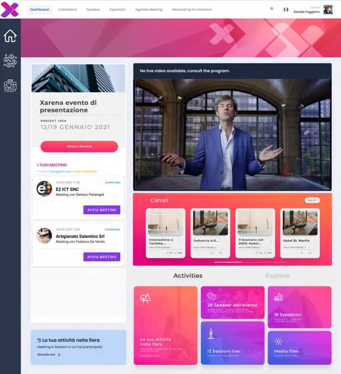 Xarena Digital Event Platform